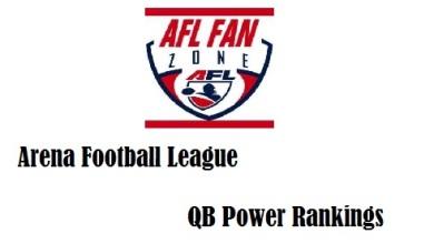 AFL FZ qb rankings
